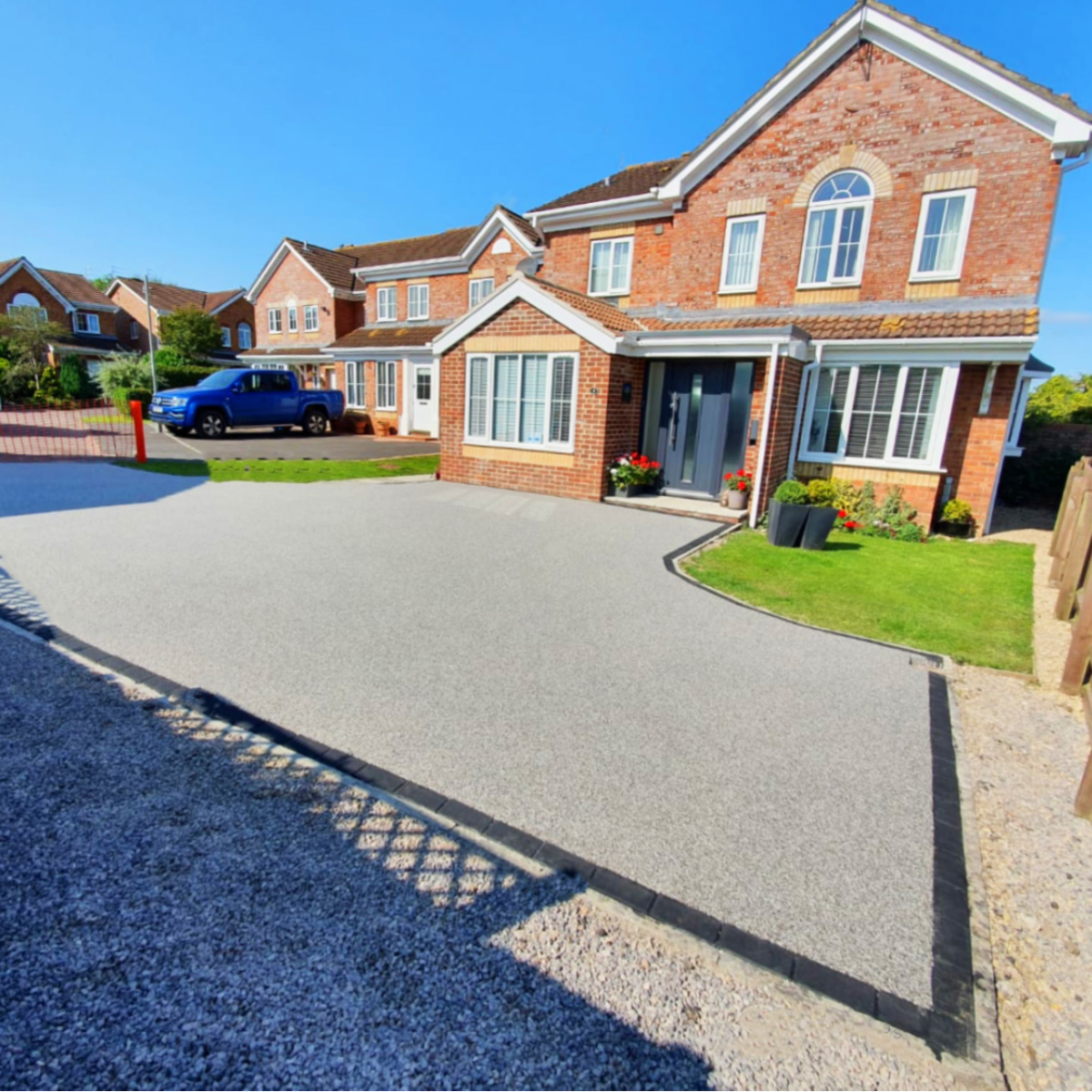 Resin driveway-new job completed